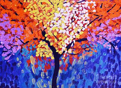 Painting - Colors Of Life by Jyoti Vats