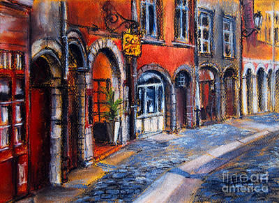 Painting - Colors Of Lyon 2 by Mona Edulesco