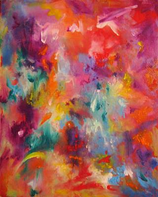 Painting - Colors Of My Dream #2 by Helen Kagan