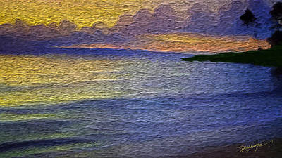 Sunset Abstract Digital Art - Colors Of Paradise by Anthony Fishburne