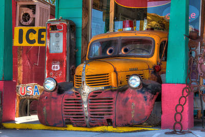 Digital Art - Colors Of Route 66 by Lori Deiter
