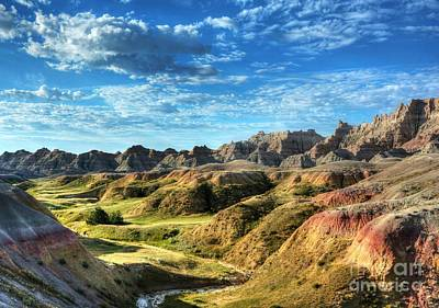 Photograph - Colors Of The Badlands by Mel Steinhauer