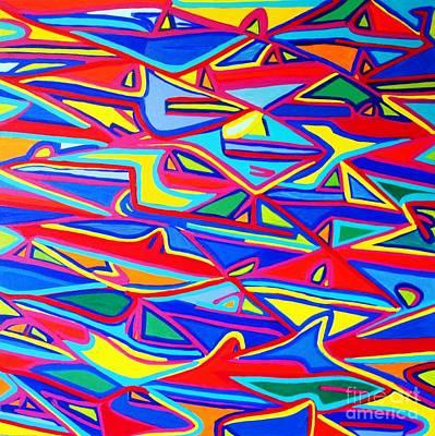 Colors Of The Fish Art Print