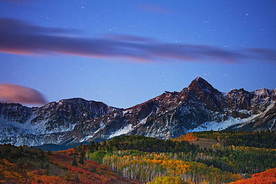 Fall Colors Photograph - Colors Of The Night by Darren  White