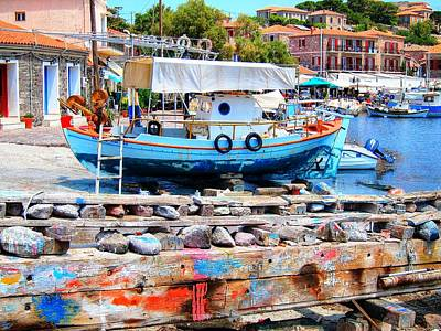 Greek Photograph - Colors Of The South by Andreas Thust