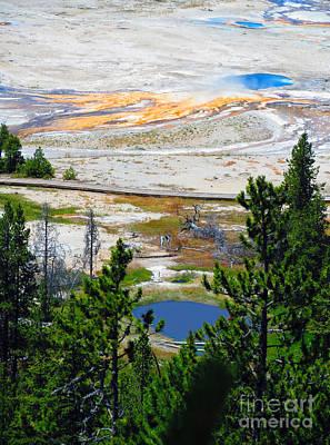 Photograph - Colors Of Yellowstone by Ausra Huntington nee Paulauskaite