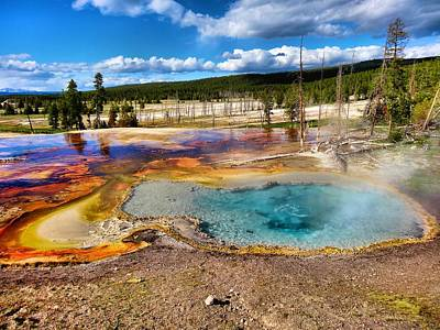 Photograph - Colors Of Yellowstone National Park by Dan Sproul