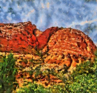 Zion Park Painting - Colors Of Zion by Dan Sproul