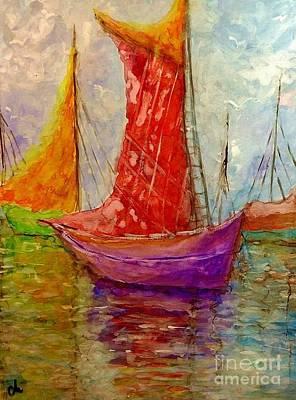Colors Symphony.. Art Print by Cristina Mihailescu