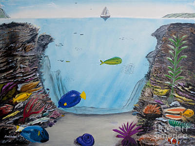 Painting - Colors Under The Sea by Ian Donley