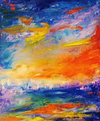 Painting - Colorscapes #6 by Helen Kagan