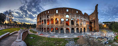 Photograph - Colosseo Panorama by Yhun Suarez