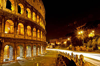 Photograph - Colosseo by Walt  Baker