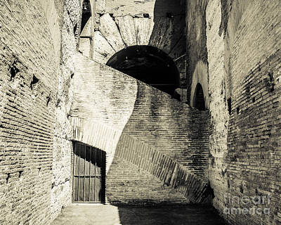 Photograph - Colosseum Archways I by Christina Klausen