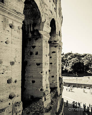 Photograph - Colosseum Archways IIi by Christina Klausen