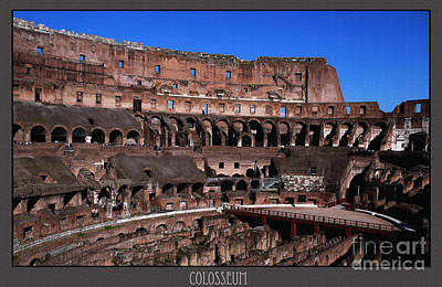 Photograph - Colosseum Emblem Of Rome by Daliana Pacuraru