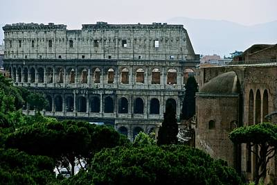 Photograph - Colosseum by Eric Tressler