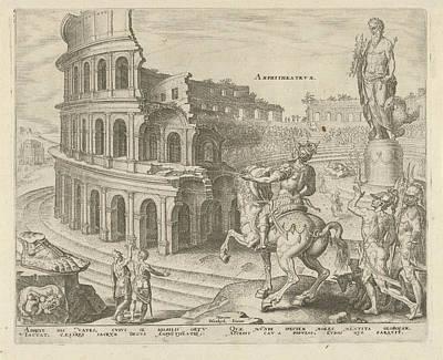 Colosseum In Rome Art Print by Hadrianus Junius