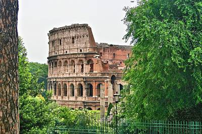 Photograph - Colosseum In The Trees by Gordon Elwell