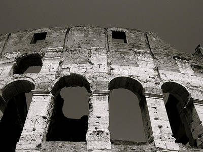 Colosseum Art Print by Kathy Ponce