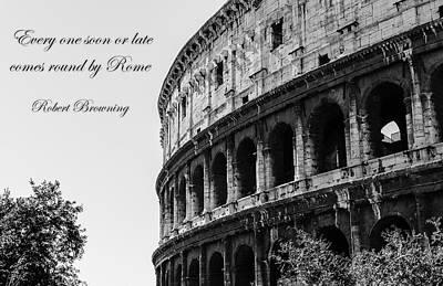Photograph - Colosseum - Rome by Andrea Mazzocchetti