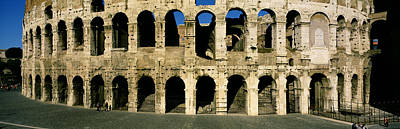 Corinthian Photograph - Colosseum Rome Italy by Panoramic Images