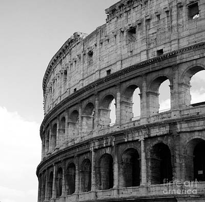 Photograph - Colosseum Rome by Louise Fahy
