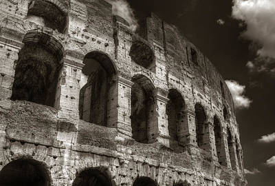 Photograph - Colosseum Wall by Michael Kirk