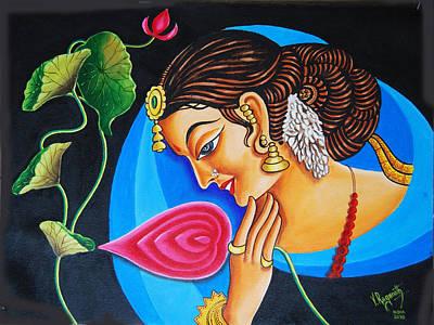 Colour And Creativity Art Print by Ragunath Venkatraman