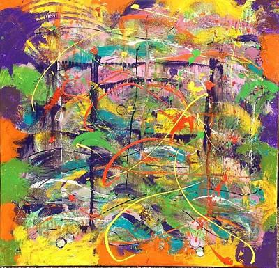 Colour Bazaar Art Print by Judi Goodwin