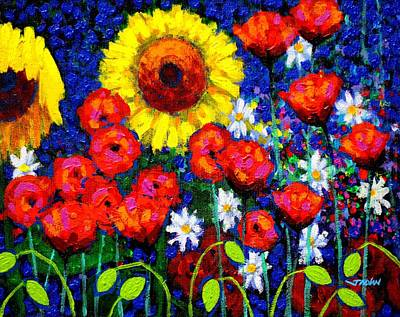Colour Cluster Original by John  Nolan