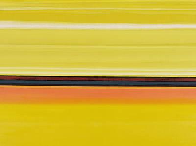 Abstract Lines Painting - Colour Energy 13  by Izabella Godlewska de Aranda