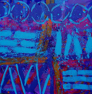 Abstract Expressionism Painting - Colour Notation by John  Nolan