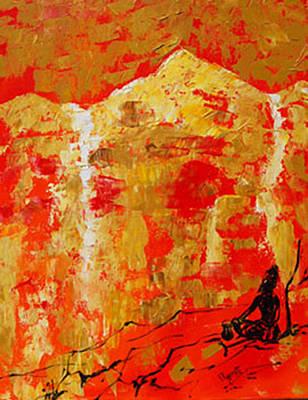 Colour Of Calm Art Print