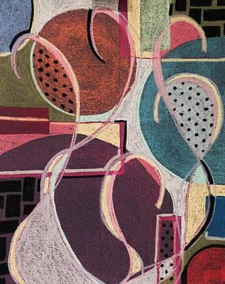 Colour Play I Art Print