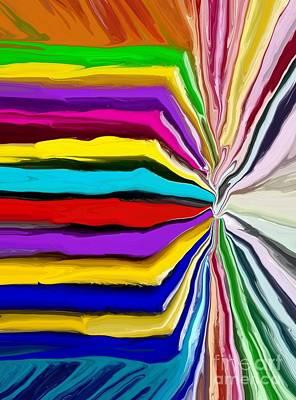 Color Wheel Digital Art - Colour Wheel by Chris Butler