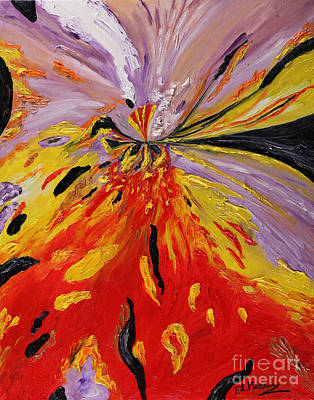 Painting - Colourburst by Loredana Messina