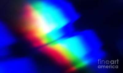 Coloured Light Art Print by Martin Howard