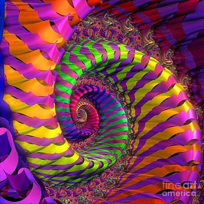 Granger - Coloured Spiral wheel by Brian Raggatt