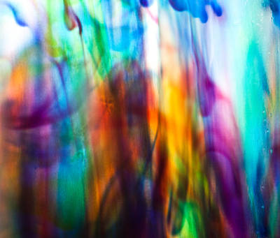 Photograph - Coloured Water by Carole Hinding