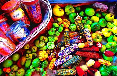Photograph - Colourful Harvest by Mick Flynn