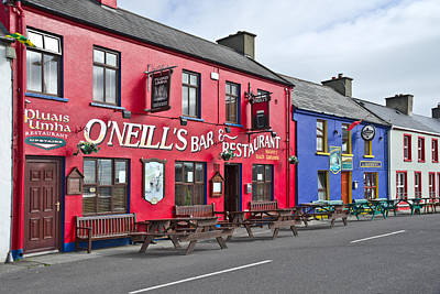 Photograph - Colourful Irish Pub by Jane McIlroy