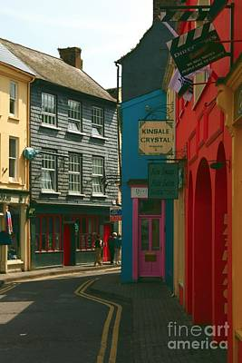 Photograph - Colourful Kinsale Street by Jeremy Hayden