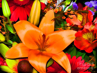 Photograph - Colourful Medley by Bianca Nadeau
