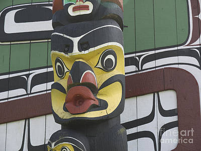 Photograph - Colourful Totem by Brenda Kean