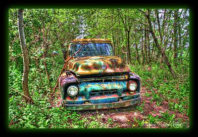 Photograph - Colourful Truck by Michaela Preston