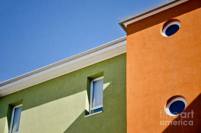 Photograph - Colours Light And Shadows In Mestre Italy by Gerda Grice