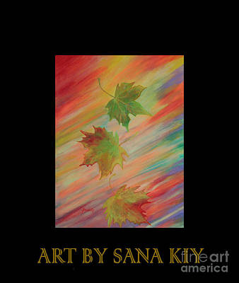 Painting - Colours Of Autumn. Inspirations Collection. by Oksana Semenchenko