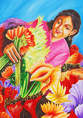 Colours Of Love - Hues Of Life Art Print