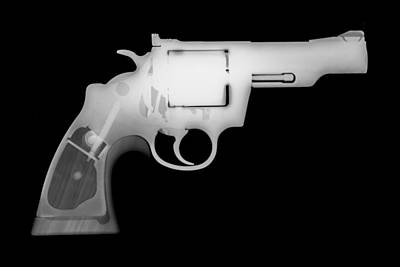 Fn Photograph - Colt 357 Magnum Reverse by Ray Gunz